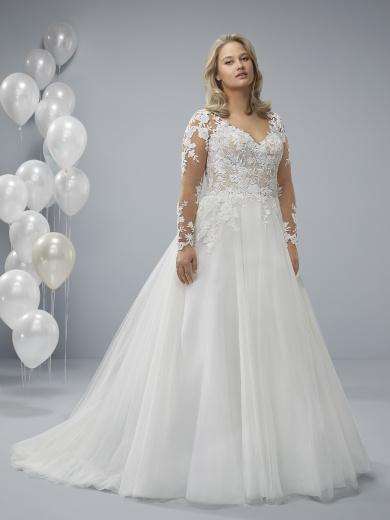 2275d11e600 Vestidos de Novia tallas Grandes